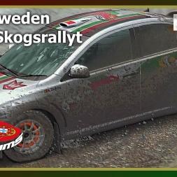 Dirt Rally - PTSims Rally Series 2017 - Rally Sweden - SS16 Skogsrallyt