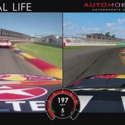 Automobilista vs. Real Life | Adelaide | V8 Supercars