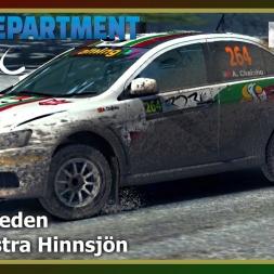 Dirt Rally - RDRC 08 - Rally Sweden - SS16 Östra Hinnsjön