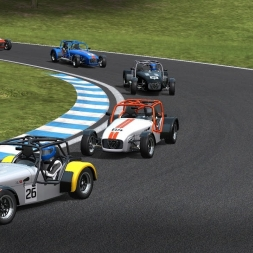 Automobilista Caterham Superlight sequential Le Mas du Clos with Racedepartment