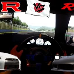 Mazda RX-7 Time Attack Spec vs Nissan GTR Nismo