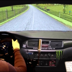 Real rally Stage. Real Co-driver. Home racing simulator. (montage!)