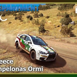 Dirt Rally - RDRC 08 - Rally Greece - SS02 Ampelonas Ormi