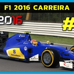 F1 2016 - Career Part 11 - Hungaroring (PT-BR)