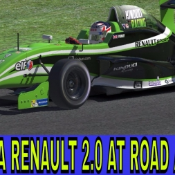 iRacing Gameplay with the Crazies at Road America in the Formula Renault 2.0