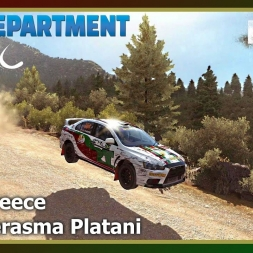 Dirt Rally - RDRC 08 - Rally Greece - SS04 Perasma Platani