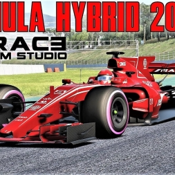 Formula Hybrid 2017 By Race Sim Studio HOTLAP at Barcelona - Assetto Corsa (Mod Download)