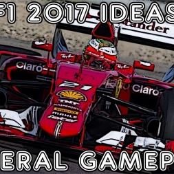 F1 2017 Ideas - General Gameplay