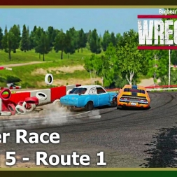 Wreckfest - Banger Race - Mixed 5 - Route 1