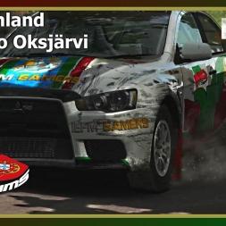 Dirt Rally - PTSims Rally Series 2017 - Rally Finland - SS05 Kotajärvi