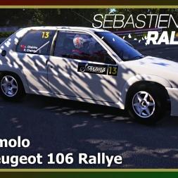 Sébastien Loeb Rally Evo - San Romolo - Peugeot 106 Rallye
