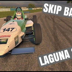 iRacing Skip Barber at Laguna Seca - Staying out of trouble