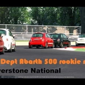 RD Abarth 500 Rookie Race - Silverstone National