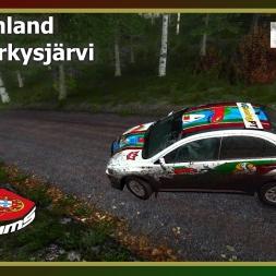 Dirt Rally - PTSims Rally Series 2017 - Rally Finland - SS10 Jyrkysjärvi
