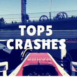 Top 5 CRASHES of season 2