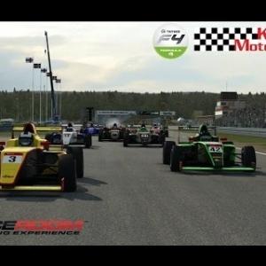 Raceroom Tatuus F4 Karlskoga with Racedepartment