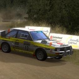 Richard Burns Rally, Audi Quattro NGP, RSRBR2016, Chirdonhead II