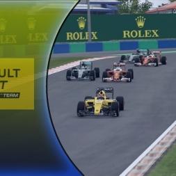 F1 2016 Career Mode Part 26: It's Happened Again! (Hungary)