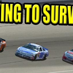 Nascar Racing 2003: Trying to survive North Carolina!