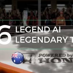 [F1 2016 Career #36] Legend AI Legendary Team | Australian GP
