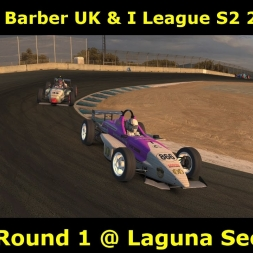 iRacing - Skip Barber UK & I League S2 2017 @ Laguna Seca