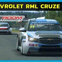 Raceroom - Chevrolet RML Cruze TC1 WTCC at Karlskoga Motordstation (PT-BR)
