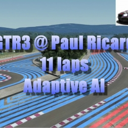 GTR3 @ Paul Ricard