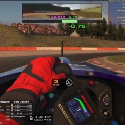 iRacing Formula Renault 2.0 at Spa Francorchamps Season 2 2017