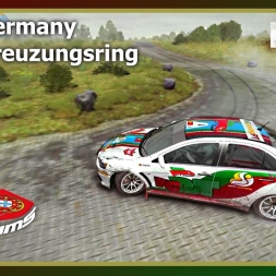 Dirt Rally - PTSims Rally Series 2017 - Rally Germany - SS04 Kreuzungsring