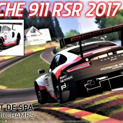 NEW Porsche 911 RSR 2017 HOTLAP at Spa - Assetto Corsa