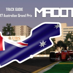 F1 2017 - Australian Grand Prix Track Guide Preview - Assetto Corsa - Formula Hybrid