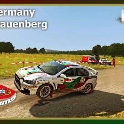 Dirt Rally - PTSims Rally Series 2017 - Rally Germany - SS08 Frauenberg