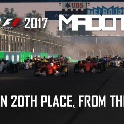F1 2017 - Daniel Ricciardo RB13 from LAST - Australian Grand Prix - Melbourne - Formula Hybrid