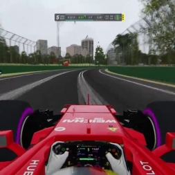 F1 2017 Onboard Vettel 1:22.930 @ Melbourne Australia | SrPetete