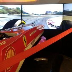 Ferrari Store Milano -  Driving simulator Assetto Corsa