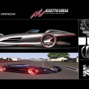 Assetto Corsa * Mercedes Benz Silver Arrow concept car