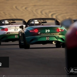 Mazda mx5 race highlights.