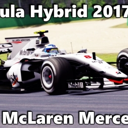 Assetto corsa - Formula Hybrid 2017 - West McLaren Mercedes mod