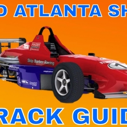 iRacing Skip Barber Track Guide at Road Atlanta Short Season 2 2017