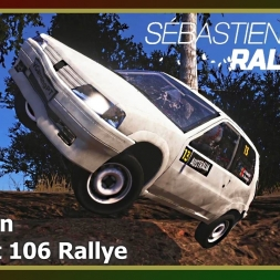 Sébastien Loeb Rally Evo - Bellingen - Peugeot 106 Rallye