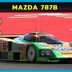Assetto Corsa - Mazda 787B at Barcelona (PT-BR)