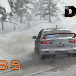 DiRT Rally Gameplay: Low Visibility | R4 Professional Championship - Episode 85