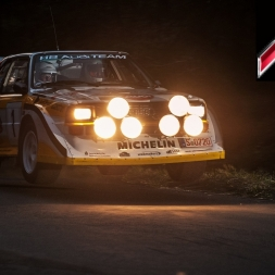 Assetto VR: Audi Quattro Rally car around Highlands!