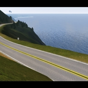 Assetto Mods: AI race at Pacific Coast Highway!