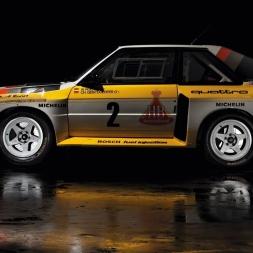 Assetto VR: Audi Quattro Rally car at Rannikanni Rally stage!
