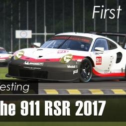Assetto Corsa - Porsche 911 RSR 2017 - Online Testing - Monza/Spa