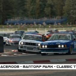 RaceRoom / Mantorp Park / Classic Touring cars