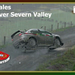 Dirt Rally - PTSims Rally Series 2017 - Rally Wales - SS10 River Severn Valley