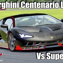 Assetto Corsa - Lamborghini Centenario LP 770-4 vS SuperCars ! 1440p