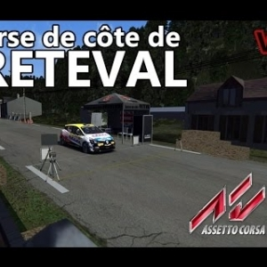 ASSETTO CORSA : COURSE DE COTE DE FRETEVAL V.1.0